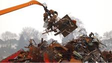 Sorting scrap metal