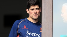 Alastair Cook can play for Essex until July.