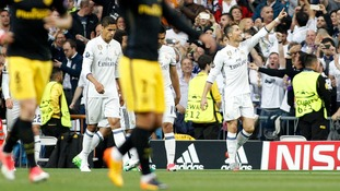 Ronaldo hat-trick gives Real Madrid semi-final advantage with 3-0 win against Atletico Madrid