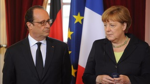 Brexit: Germany and France 'want €100bn from UK'