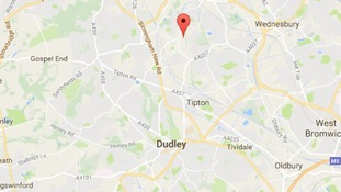 Coseley is just north of Dudley in the Black Country.