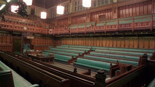 The House of Commons will be empty until after the election results are in.
