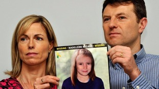 Kate and Gerry have said they will never give up hope of finding their daughter.