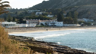 The number of tourists visiting Praia Da Luz has dropped since Maddy went missing.