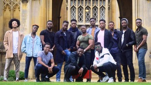 'Representation matters': why a photo of black male Cambridge students has gone viral