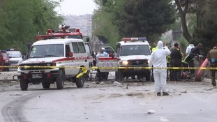 Kabul attack: Several dead in car bombing near US Embassy in Afghan capital