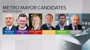 The candidates running for the position of Metro Mayor