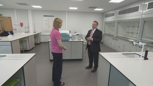 NuGen CEO Tom Samson spoke to ITV Border's Katie Hunter.
