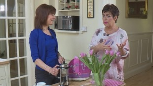 Denise Welch speaks to Pam Royle