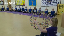 Year 6 pupils have been learning how to manage stress.