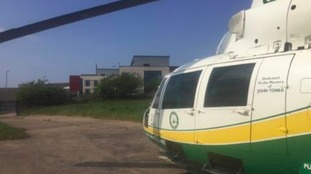 GNAAS treated a man in his 70s, who was having a heart attack