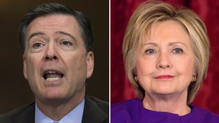 James Comey defends timing of FBI investigation into Hillary Clinton's emails