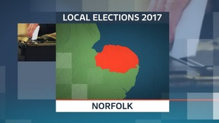 There are elections for 84 new councillors on Norfolk County Council.