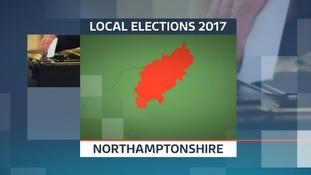 There are elections for 57 new councillors on Northamptonshire County Council.