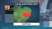 There are elections for 75 new councillors on Suffolk County Council.