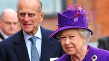 The Queen and Prince Philip visited UTV on a trip to Northern Ireland in 2010.