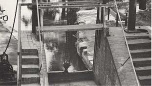 Guillotine lock is being refurbished