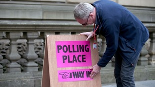 Votes being counted in local elections across England, Scotland and Wales
