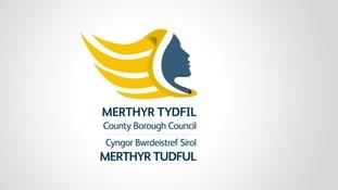Merthyr council logo