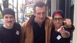Taken literally: Liam Neeson demands free sandwich in Vancouver restaurant