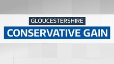 Conservative gain control of Gloucestershire County Council