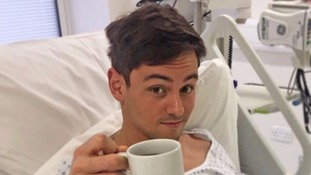 Tom Daley in hospital just days before wedding