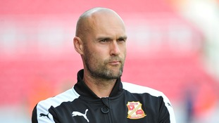 Swindon Town head coach Luke Williams to leave club