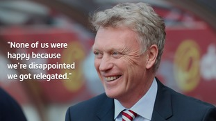 Moyes was criticised for declaring he was in a survival battle upon his arrival at the Stadium of Light
