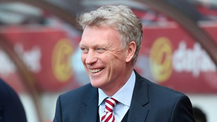 David Moyes says he's been given the backing of his Chairman