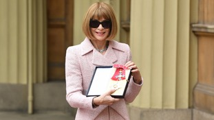 Dame Anna Wintour with her Dame Comander
