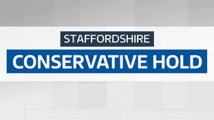 Local council elections: Staffordshire - Conservative hold