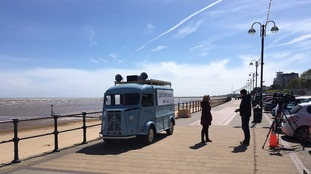 Spill the Beans: Election views with a brew on Cleethorpes Pier