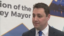 Conservative's Ben Houchen elected as first Tees Valley Mayor