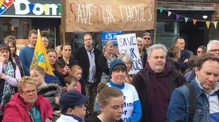 Protest in Penrith