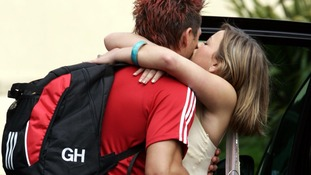 Gavin Henson with Charlotte Church.