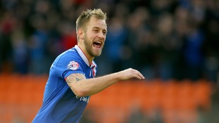 Carlisle's Danny Grainger (file photo)