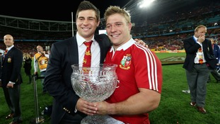 Ben (left) and brother Tom (right) were both part of the Lions squad that toured Australia four years ago.
