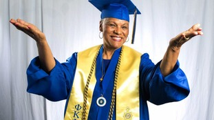 Darlene Mullins graduated at the age of 72