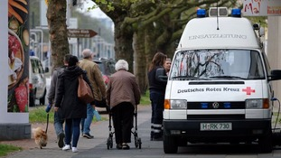 Thousands of people have been evacuated from Hannover after five bombs were found.