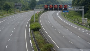 The Autobahn near Hannover was closed in 2015 after WWII bombs were found nearby.