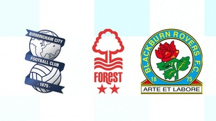 Birmingham City and Nottingham Forest were spared relegation, condemning Blackburn Rovers to League One.