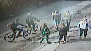 Police would like to speak to the two men on bikes