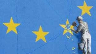 Banksy confirms Brexit mural in Dover is his