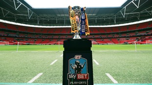 The Championship play-off trophy