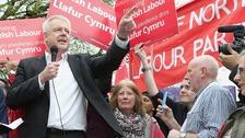 Carwyn Jones (Corbyn rally)