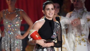 Emma Watson wins 'gender neutral' MTV Movie Award