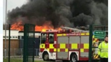 The fire at Rift House School