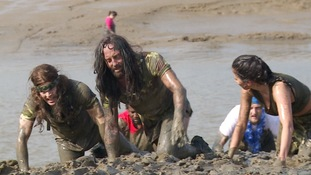 In pictures: Maldon Mud Race runners get mucky in the name of charity