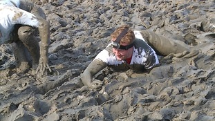 The mud has been known to reach knee height.