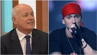 Iain Duncan Smith raps Eminem in message to Diane Abbott